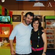 Con Bruno Oteiza Carniceria Angelita